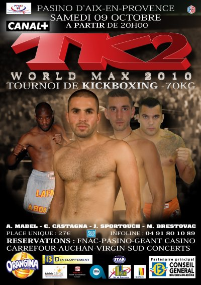 TK2 WORLD MAX 2010 L'ASKB MARSEILLE EN FORCE