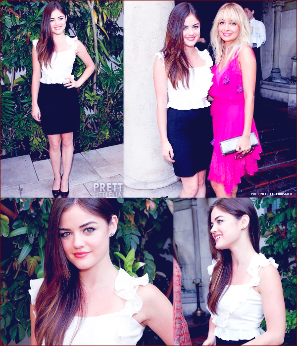 "18.10 – Lucy Hale à l'évènement "" Dior Garden Party "" à Los Angeles."