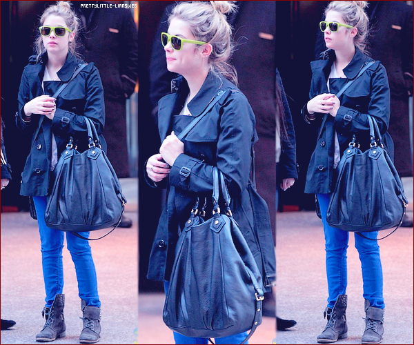 31.12 Ashley dans les rues de New York.