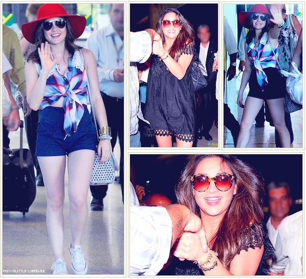 29.o2.12 - Shay et Lucy a l'aéroport de Rio.