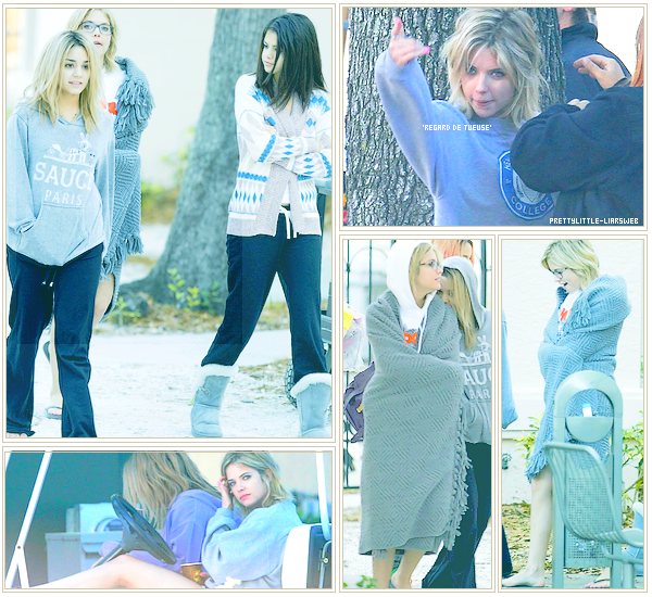 o5/o3/12 - Lucy Hale et Ashley Benson de sortie.