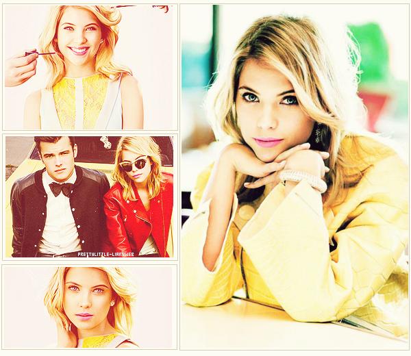Ashley Benson pour Teen Vogue.