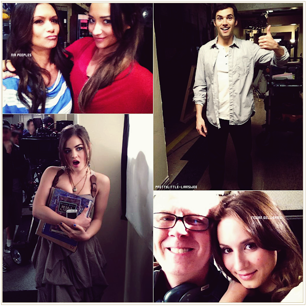 Behind the scenes - Saison 3.
