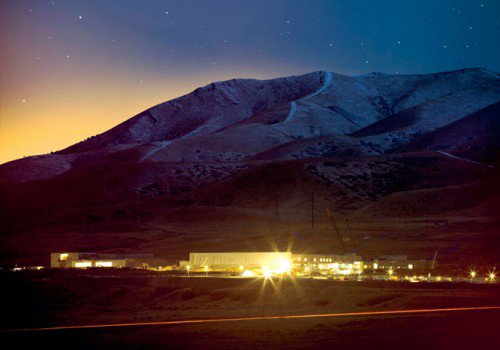 Un gigantesque centre d'espionnage en construction dans le désert américain