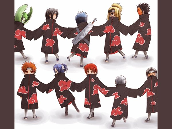 Fiction n°23:  L'Akatsuki chez nous ! (Naruto)