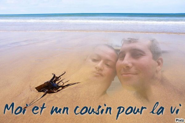 Moi et mn cousin