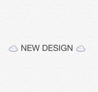 NEW DESIGN - info