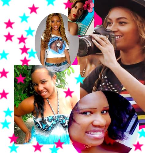 Beyoncé et  Princess Kinzy aime les photos