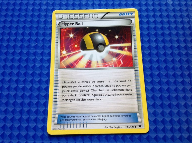Carte du vrai booster feu pokemon