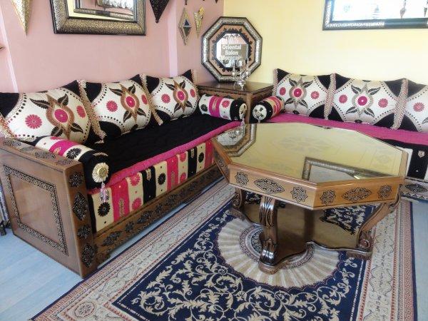 NOUVEAU ! Salon marocain ANDALOUS - 100% ORIENTAL
