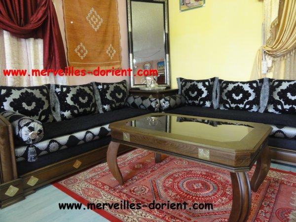 NOUVEAU ! Salon Marocain ALADIN - 100% ORIENTAL