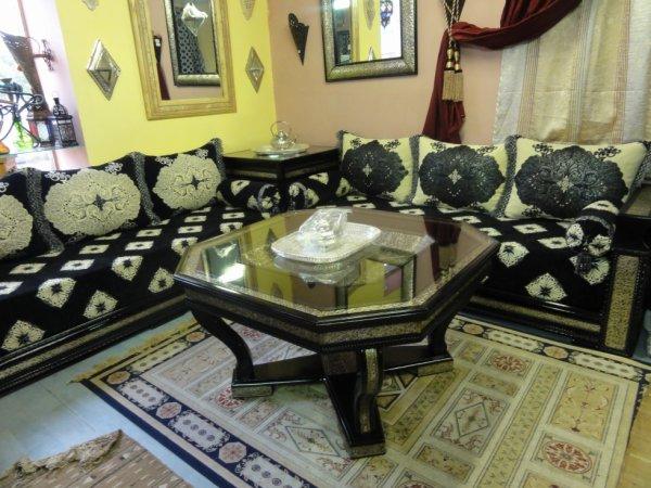 Captivant Salon Marocain ADAM