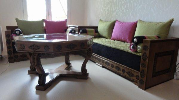 Salon Marocain ANDALOUS - 100% ORIENTAL