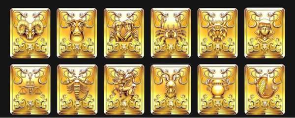 Voici : Les Chevaliers D' Or du Zodiaque