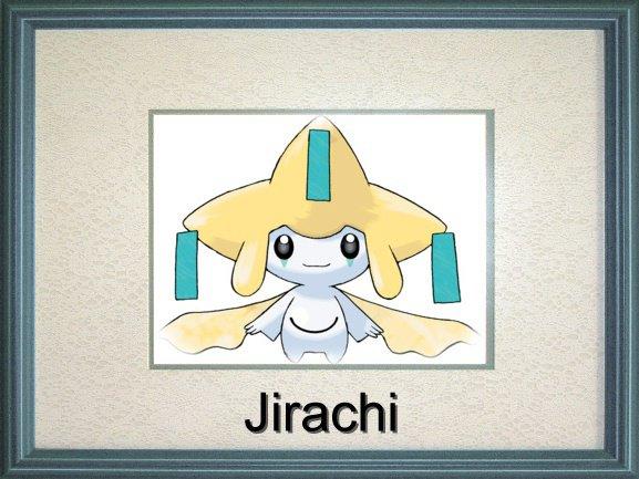 Voici : Jirachi (Pokémon)