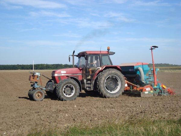 Semis de colza dans le 45 2010