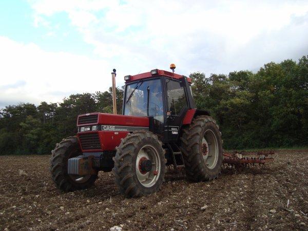Preparation de semis de blé tendre chez un pote 2010