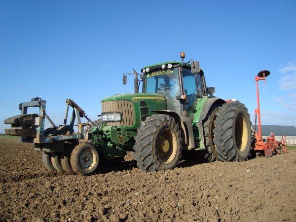 Semis de blé tendre dans le 45 2010