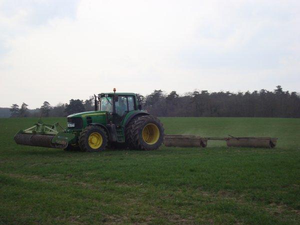 Roulage de blé dur dans le 45 2011