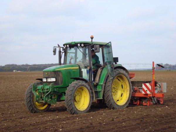 Semis de bétteraves à sucres dans le 45 2011