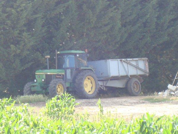 Moisson de colza dans le 45 2011