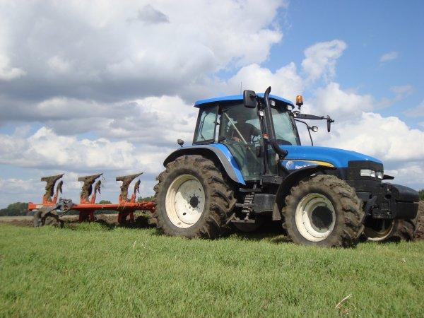 Labours pour semis de colza dans le 45 2011