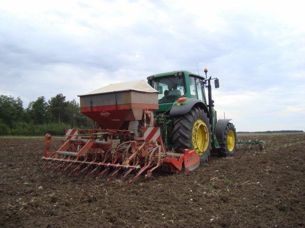 Semis de colza dans le 45 2011