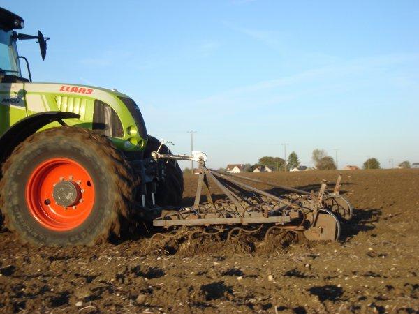Semis de blé dur dans le 45 2011