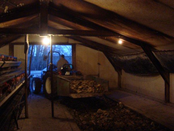 Travaux d'hiver 2011 chez mon voisin
