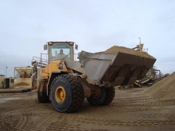 Transport de sable 2011 chez mon voisin