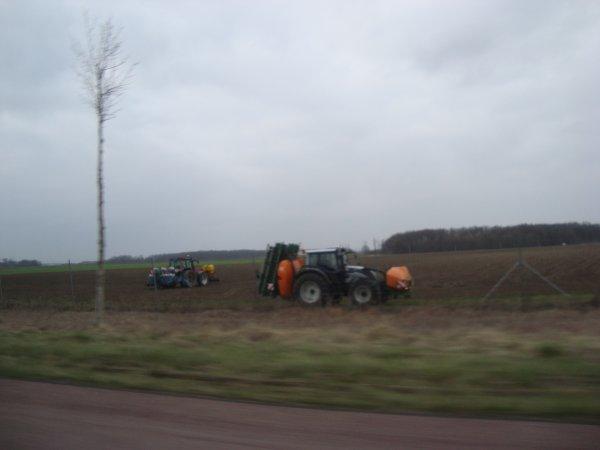Semis de betteraves 2012 dans le 45