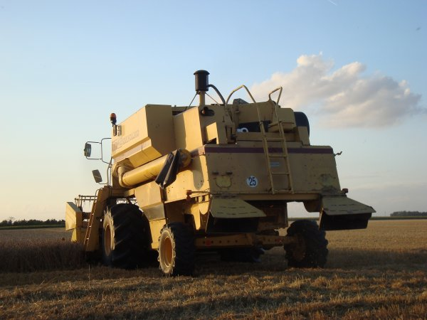 Moisson de blé dur 2012 dans le 45