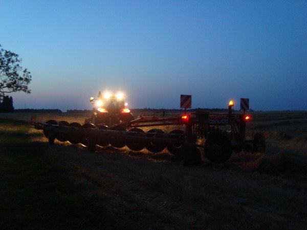 Andainage de paille de blé 2012 dans le 45