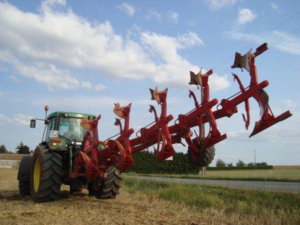 Labour pour semis de colza 2012 dans le 45