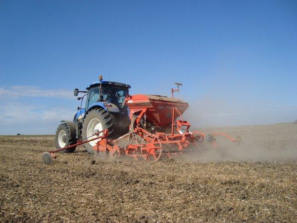 Semis de colza dans le 45 2012