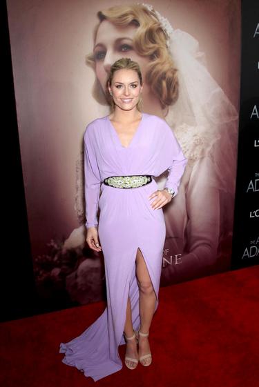 """Lindsey à New York pour l'avant-première du film """"The Age of Adaline""""!!!"""