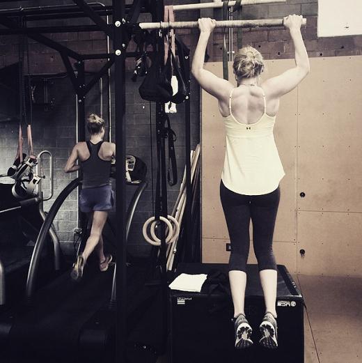 Lindsey s'entraîne avec Kirsten Sweetland en Californie!!!