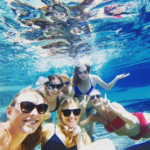 Lindsey en vacance au Mexique avec ses copines!!!