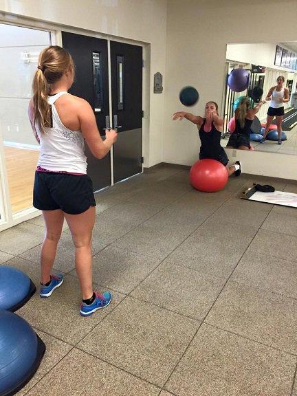 Semaine intensive d'entraînement dans l'Utah pour Lindsey!!!