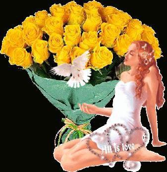 Ces roses pour toutes les mamans du monde entier.