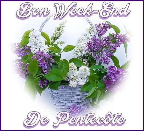 Un lilas pour parfumer ton long week-end de Pentecôte ,et ton joli coeur du parfum qui s'appelle bonheur.