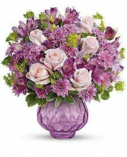 Ce beau bouquet n'est que pour toi.