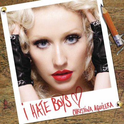 "CHRISTINA AGUILERA ""i hate boy"""