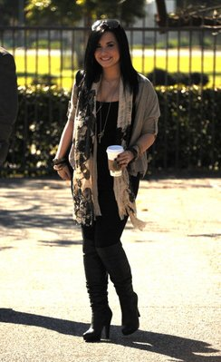 Demi enfin sortie de son centre  (29/01/11)