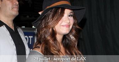 DEMI DE RETOUR À LOS ANGELE (01/08/11)