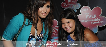 « Creations Celebrity Retreat ». (08/08/11)