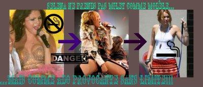 Miley, ton image en prend un coups!!!