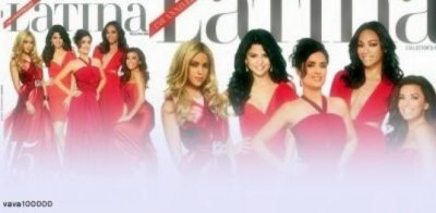 Selena a posé pour le magazine Latina avec des stars tel que Eva Longoria! Merci à just-this-One pour le montage:)