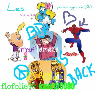 Les stars des BD!!!(artcile en collaboration avec flofolie99)