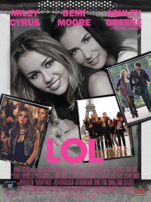Affiche de LOL; le film de Miley!